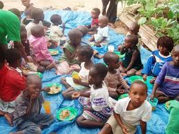 kids starving on streets